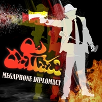 OjOutLaw (Dan O'Brien and the OjOutLaw band) - MEGAPHONE DIPLOMACY Cover Art