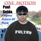 Ernest Vogue - One Motion (Paul Selda) Cover Art
