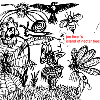 Ingredients the band - Jon Timm's Island of Nectar Bees Cover Art