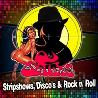 OjOutLaw (Dan O'Brien and the OjOutLaw band) - Stripshows, Disco's and Rock n' Roll Cover Art