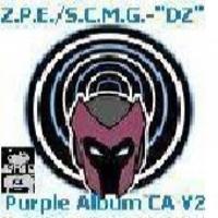 Drop-Zone (Drop-Zone) - Drop-Zone The Purple Album MixTape Chapter A Volume 2 ( Drop-Zone The Purple Album MixTape CA V2) Cover Art